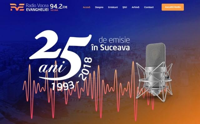 site Radio Vocea Evangheliei Suceava